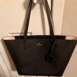Kate Spade Tote Bag - Black Leather